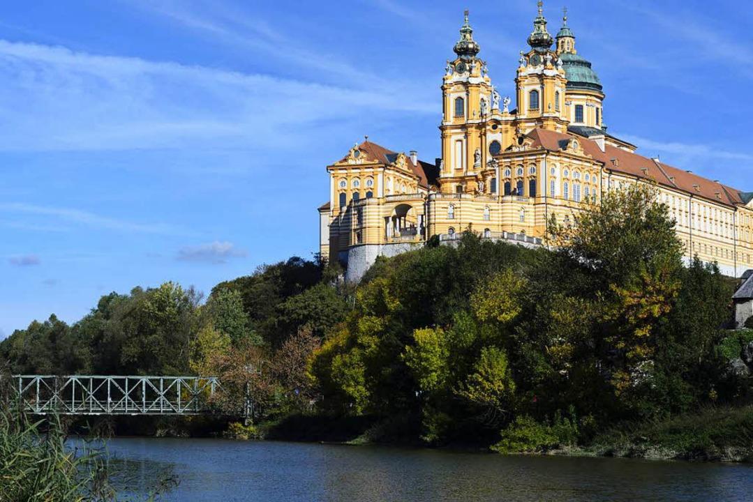 Thront über der Donau: Stift Melk  | Foto: Volker Preusser