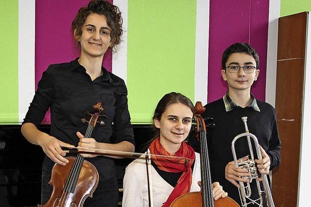 Jungmusiker erringen Höchstpunktzahl