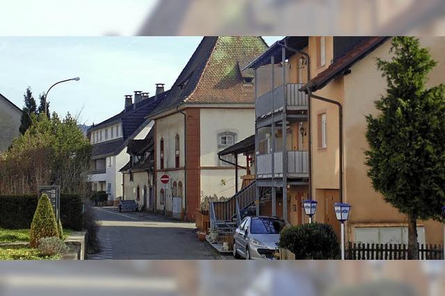 Älteste Straße Murgs wird saniert