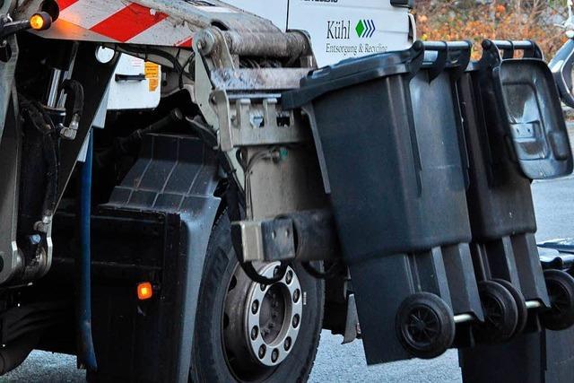 Polizei kontrolliert im Kreis Lörrach Müllfahrzeuge