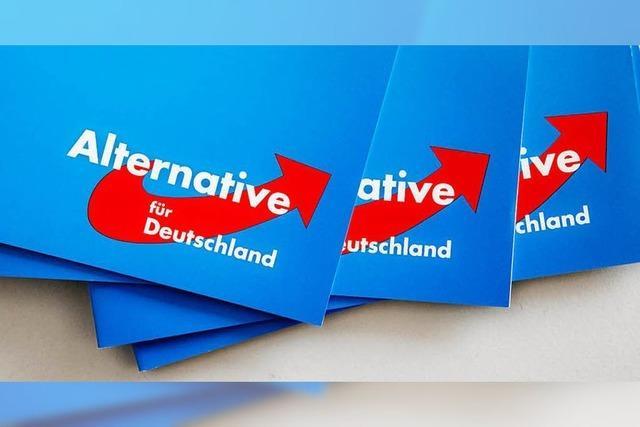 AfD-Sprecher des Kreisverbands Breisgau-Hochschwarzwald tritt zurück