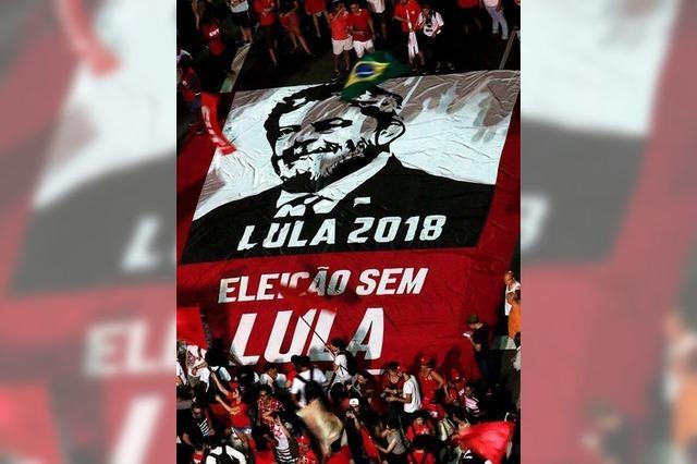 Brasiliens Ex-Präsident Lula muss zwölf Jahre in Haft