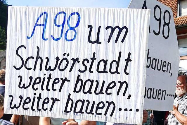 A98 Schwörstadt: Gemeinderat fordert mehr Lärmschutz