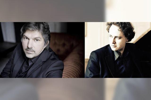 Bariton Thomas E. Bauer begleitet am Klavier von Alexander Schimp zu Gast In Müllheim