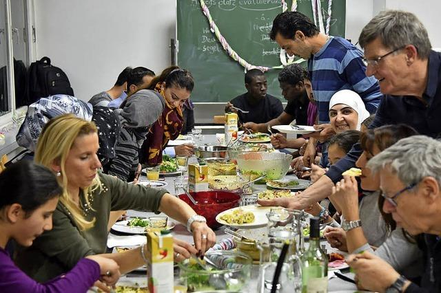 Amiko-Helferkreis in Rheinfelden bietet Kochkurse für Flüchtlinge an