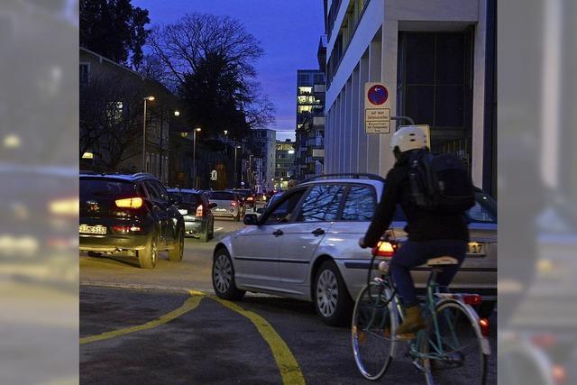 Jeden Tag eine neue Verkehrsführung