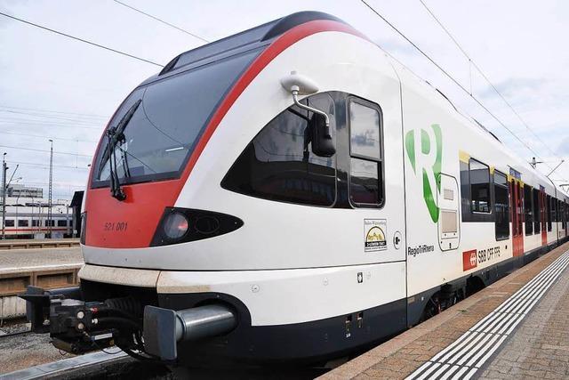Letzter S6-Zug fährt einmalig ab Basel SBB 9 Minuten später