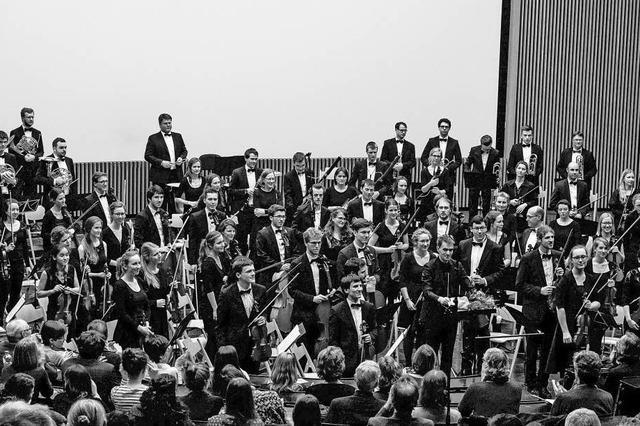 Semesterkonzert des Freiburger Studierendenorchesters