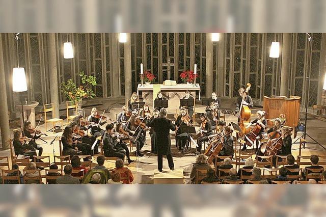Konzert mit Stücke von Correlli, Tschaikowsky, Vivaldi, Strauss und Bach in Sulzburg