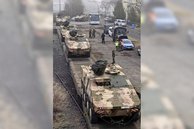 350 Soldaten in Litauen präsent