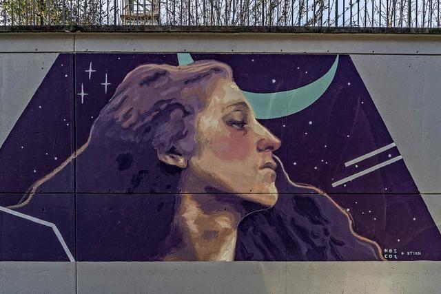 Street-Art schmückt das Bahnhofsviertel