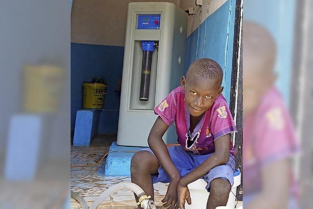 Für Trinkwasser in Afrika