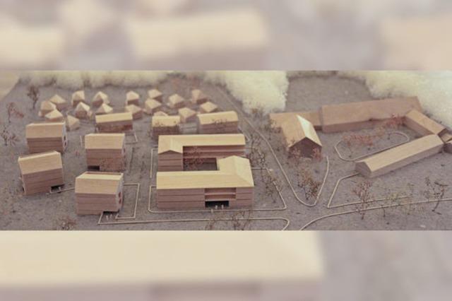Viele Wohnformen auf einem Gelände