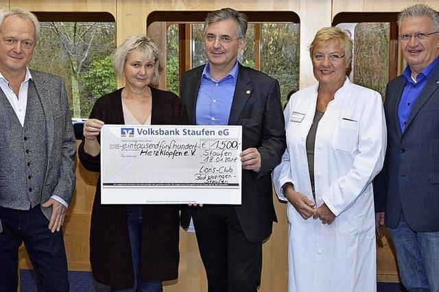 Spenden für herzkranke Kinder