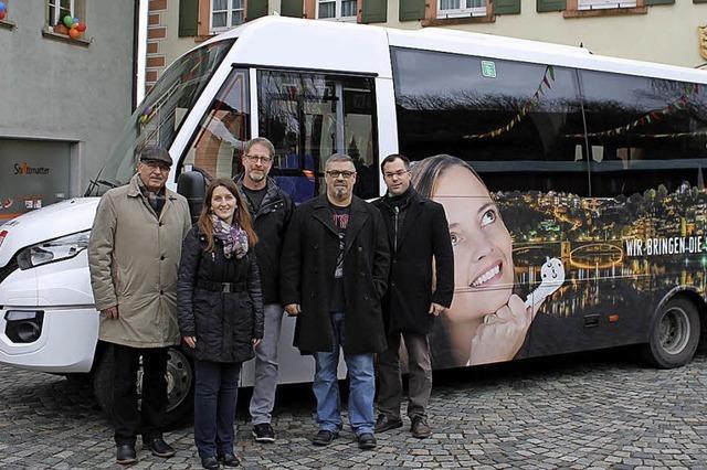 Stadtbus startet frisch durch