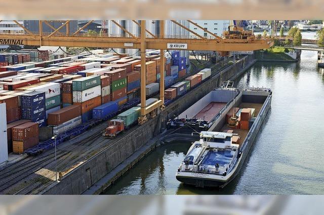 Rekord bei den Containern