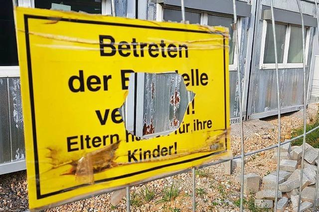 Warum in Müllheim millionenteure Container vor sich hin rosten