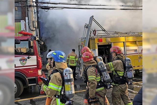 37 Tote bei Klinikbrand
