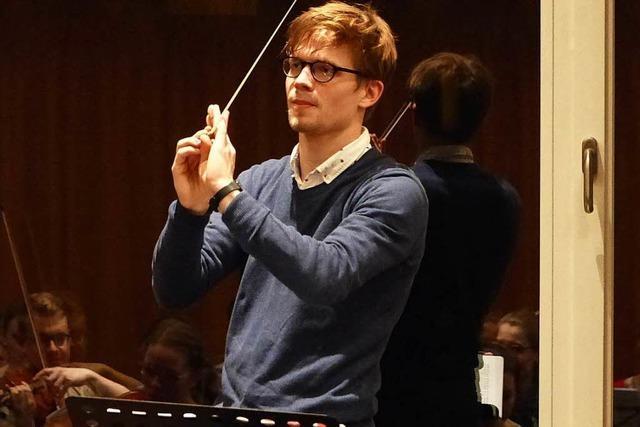 Valentin Egel ist 23 – und als Dirigent erfolgreich