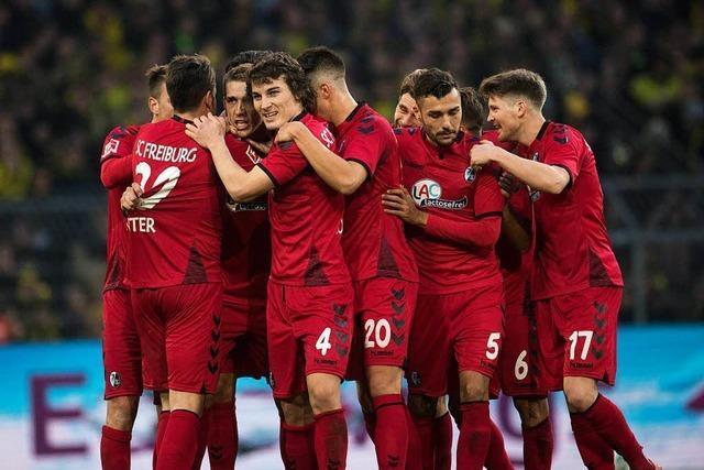 SC Freiburg spielt 2:2 in Dortmund und verpasst nur knapp die Sensation