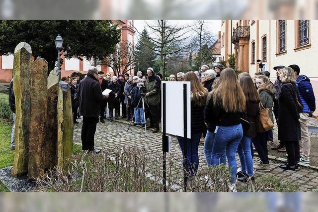 Gedenkfeier am Holocaust-Mahnmal
