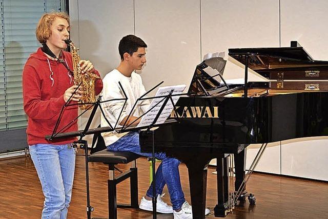 Offene Bühne der Musikschüler