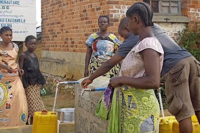 Sauberes Wasser ist das Wichtigste