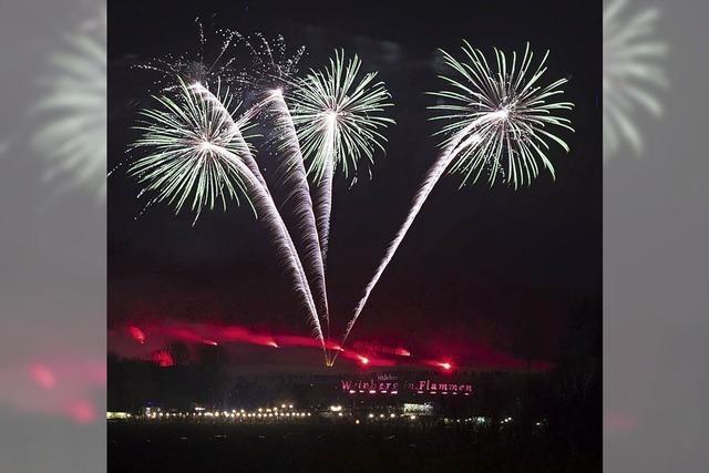 Besucherrekord bei Weinberg in Flammen