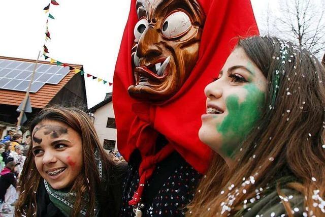 Fotos: Jubiläumsumzug der Sulzer Narren bei Lahr