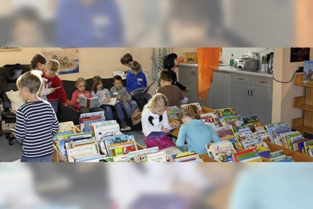 Kinder zum Lesen animieren