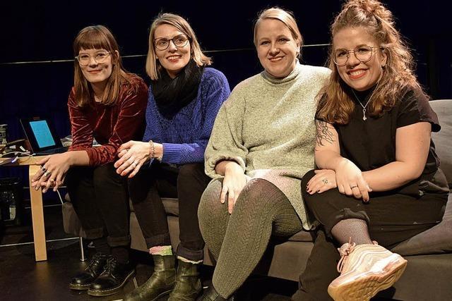 Vier Grand Dames des Poetry Slams begeistern im Burghof