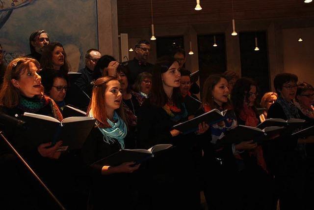 Singkreis Vivace gibt Benefizkonzert in Weil am Rhein