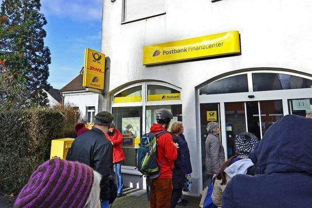 Postbank schließt Freiburger Filiale in Haslach