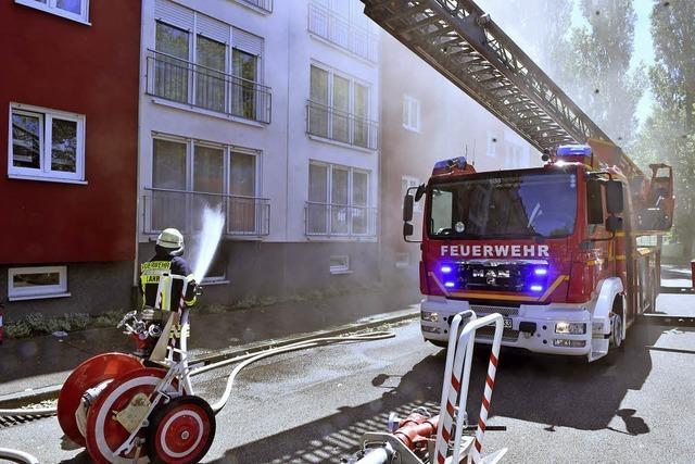 Lahrer Feuerwehr hat steigende Einsatzzahlen, aber zu wenige Feuerwehrmänner