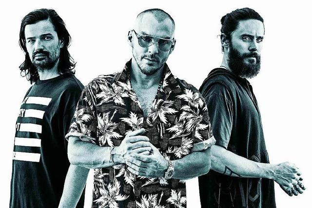 Thirty Seconds To Mars treten in Freiburg auf