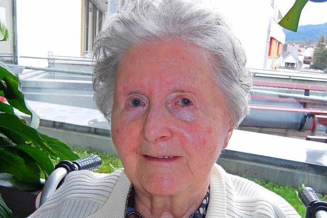 Ehrenbürgerin Maria Luise Frick ist gestorben