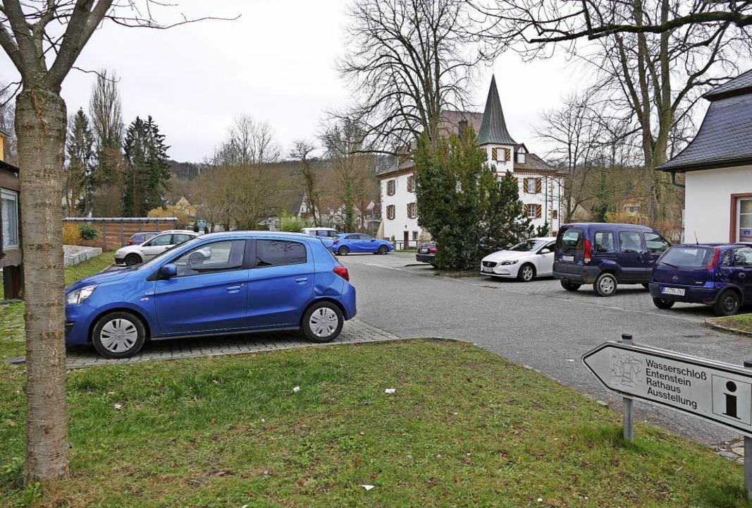 Parkplatz Rathaus Schliengen  | Foto: Michael Behrendt