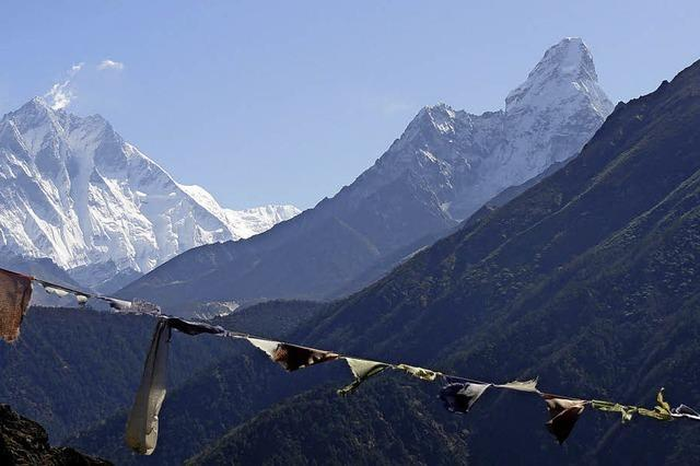 Bildvortrag über die Everest-Region beim DAV.