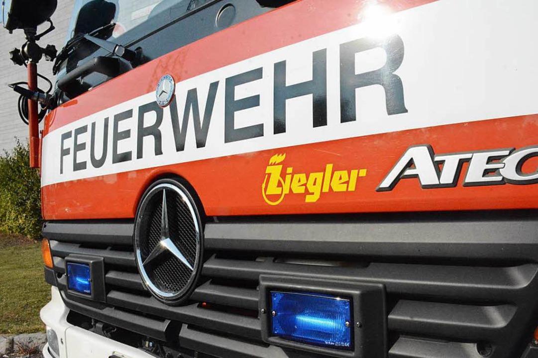 Feuerwehr, Rettungsdienst und Polizei waren im Einsatz.  | Foto: Hannes Lauber