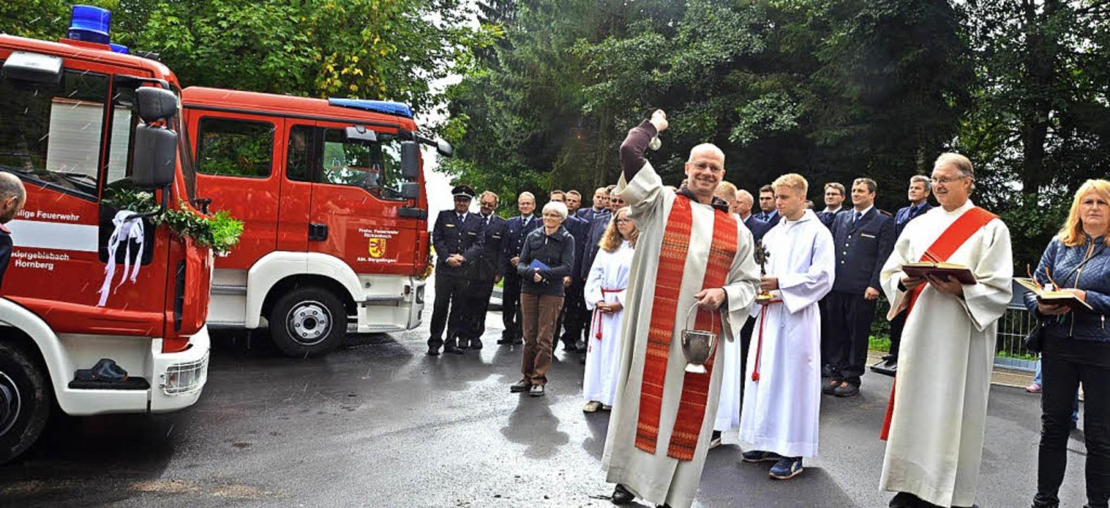 Ein Fahrzeug der Abteilung Niedergebis...er Abteilung wurden im Herbst geweiht.  | Foto: Archivfoto: Sahli