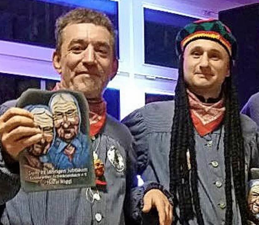 Geehrt wurden Horst Niggl (links) und  Markus Knöpfle.  | Foto: privat