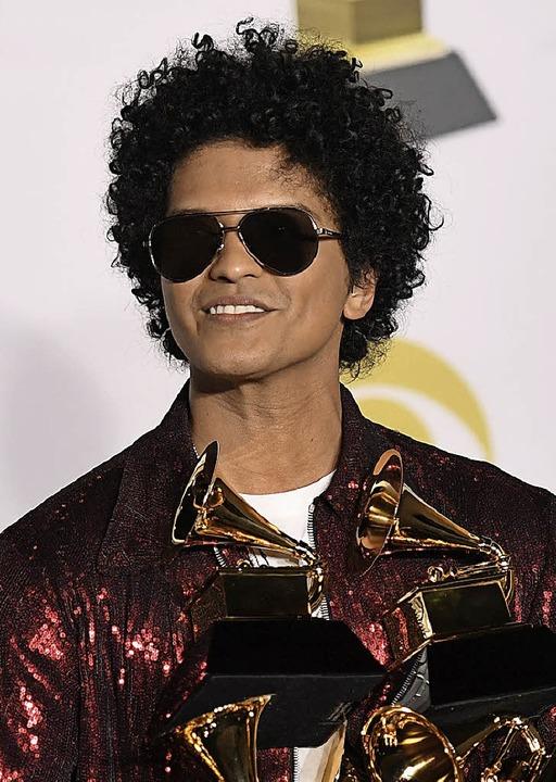 Bruno Mars   | Foto: AFP