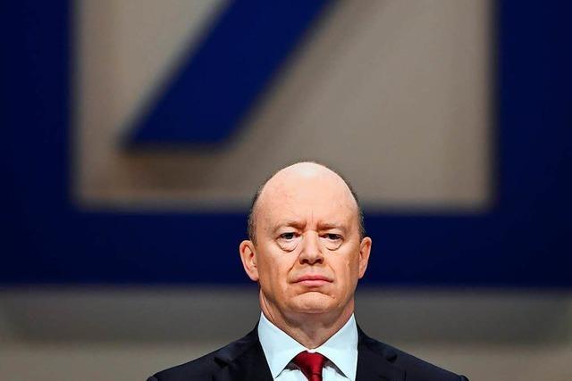 Kritik an hohen Bonus-Zahlungen der Deutschen Bank