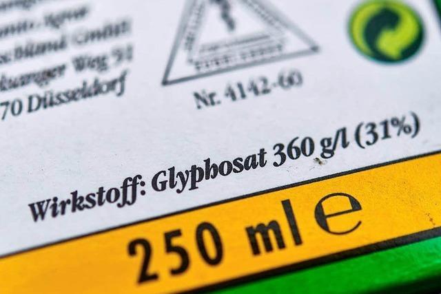 Kein Glyphosat-Verbot in Lahr