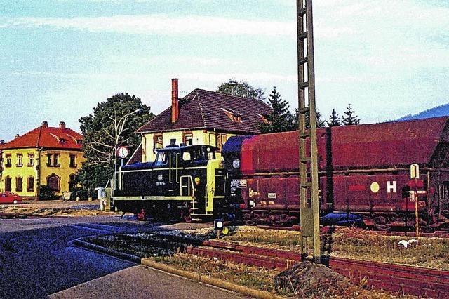 Der alte Güterbahnhof