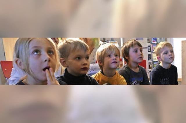 Die Geschichte vom Eisdrachen lässt Kinder nicht kalt