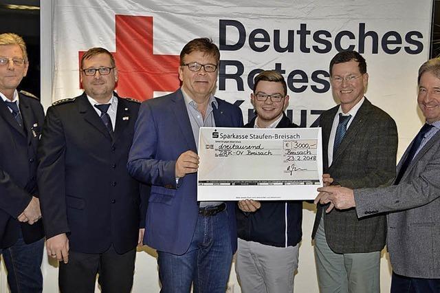Lions Club spendet 3000 Euro für DRK