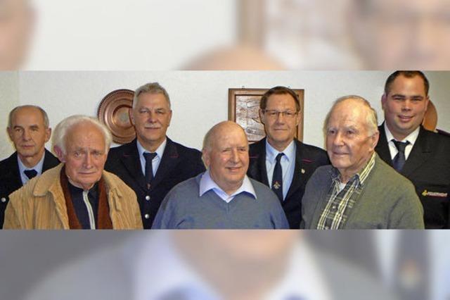 Paul Stächelin: 70 Jahre in der Wehr