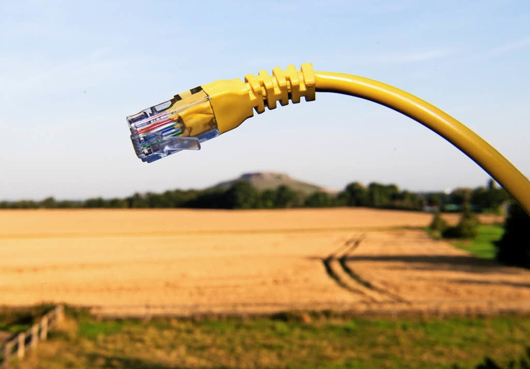 Gerade der ländliche Raum sucht Anschluss ans schnelle Internet.   | Foto: dpa
