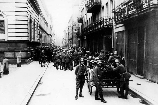 Die Novemberrevolution 1918 – gelungen oder gescheitert?